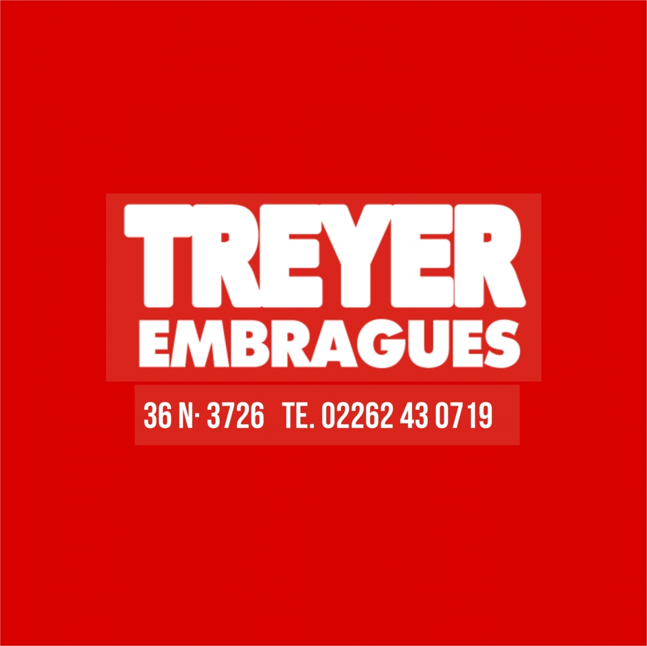 TREYER EMBRAGUES