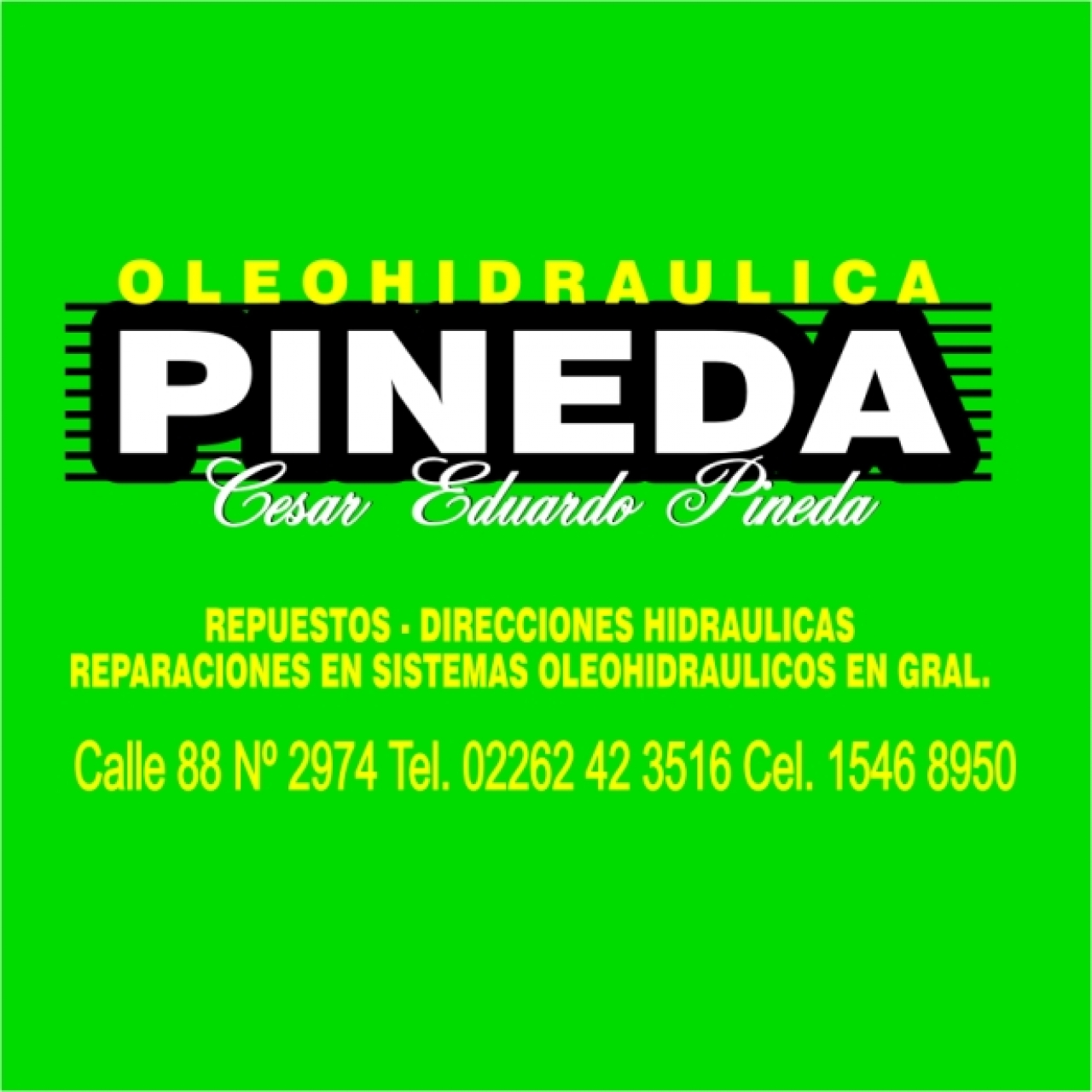 OLEOHIDRAULICA PINEDA DIRECCIONES HIDRAULICAS REPUESTOS TALLER BOMBAS