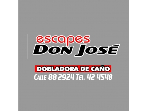 ESCAPES DON JOSE DOBLADORA DE CAÑOS SILENCIADORES TURBOS TALLER REPUESTOS