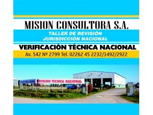 MISION CONSULTORA VERIFICACION TECNICA NACIONAL VTV